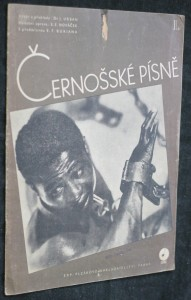 náhled knihy - Černošské písně (I. svazek sbírky písní \Lidové písně z celého světa\)