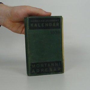 náhled knihy - Hornicko-hutnický kapesní kalendář na rok 1938