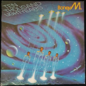 náhled knihy - Boney M.: Ten Thousand Lightyears (made in Bulgaria)