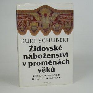 náhled knihy - Židovské náboženství v proměnách věků
