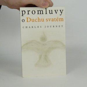 náhled knihy - Promluvy o Duchu svatém