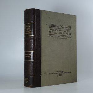 náhled knihy - Sbírka vzorců podání ve věcech práva správního
