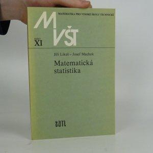 náhled knihy - Matematická statistika