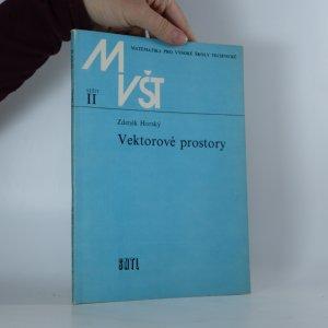 náhled knihy - Matematika pro vysoké školy technické (sešit č. II) -  Vektorové prostory
