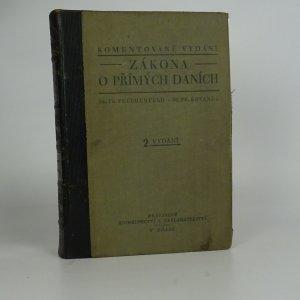 náhled knihy - Komentované vydání zákona o přímých daních. II. vydání