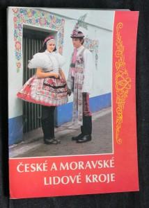 náhled knihy - České a moravské lidové kroje (soubor pohlednic)