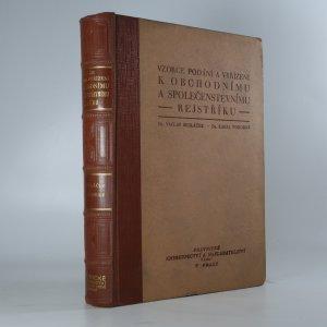 náhled knihy - Vzorce podání a vyřízení k obchodnímu a společenskému rejstříku