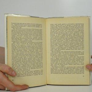 antikvární kniha Toulky Prahou, 1973