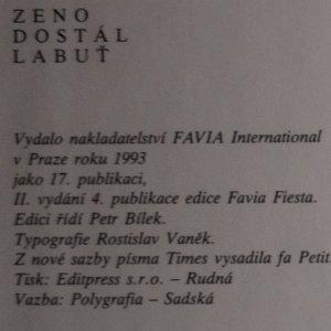 antikvární kniha Labuť, 1993