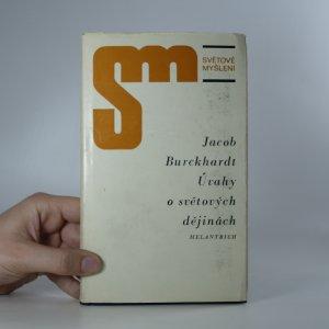 náhled knihy - Úvahy o světových dějinách
