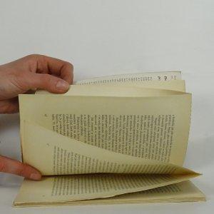 antikvární kniha O hmotě oživené, neuveden