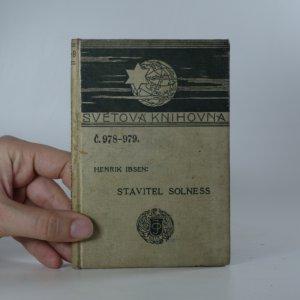 náhled knihy - Stavitel Solness