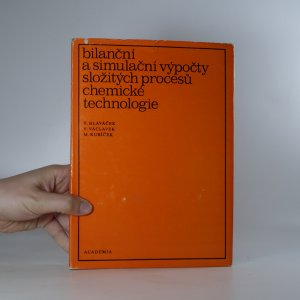 náhled knihy - Bilanční a simulační výpočty složitých procesů chemické technologie