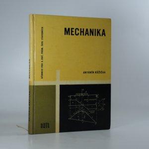 náhled knihy - Mechanika pro 3. ročník průmyslových škol stavebních