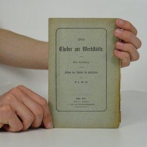 náhled knihy - Vom Cheder zur Werkstätte