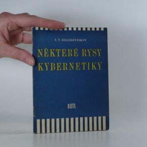 náhled knihy - Některé rysy kybernetiky