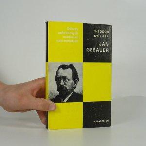 náhled knihy - Jan Gebauer