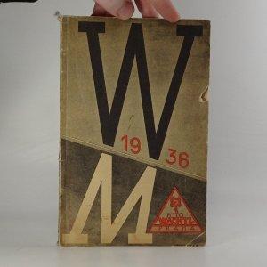 náhled knihy - Fotografické přístroje a potřeby 1936