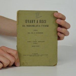 náhled knihy - Úvahy a řeči Dr. Miroslava Tyrše. Oddíl I., Úvahy sokolské. Svazek 1.