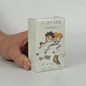 náhled knihy - Stopy lidí. Sběratelská karetní hra.