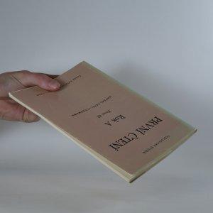 antikvární kniha Teologické studie - První čtení, rok A, I. díl, 1990