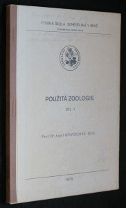 náhled knihy - Použitá zoologie : Určeno pro posl. VŠZ [Vysoká škola zemědělská] v Brně. Díl 2