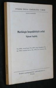 náhled knihy - Morfologie hospodářských zvířat : vybrané kapitoly