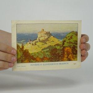 náhled knihy - Pověsti o slovenských hradech - Spiš