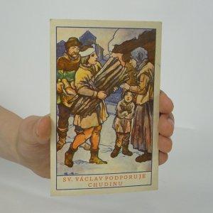 náhled knihy - Sv. Václav podporuje chudinu