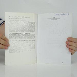 antikvární kniha Český jazyk pro I.-IV. ročník středních škol (mluvnická a stylistická část), 2003