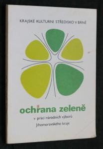náhled knihy - Ochrana zeleně