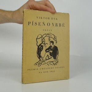 náhled knihy - Píseň o vrbě. Prósy