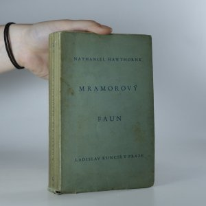 náhled knihy - Mramorový faun