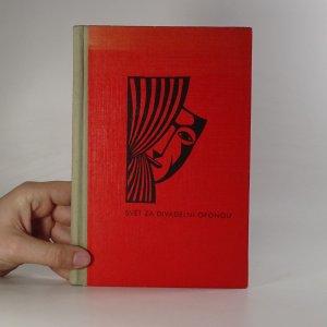 náhled knihy - Svět za divadelní oponou