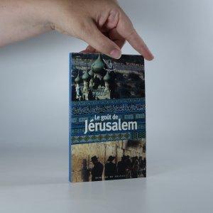náhled knihy - Le Goût de Jérusalem