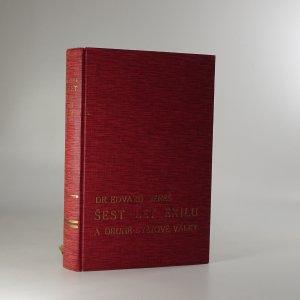 náhled knihy - Šest let exilu a druhé světové války. Řeči, projevy a dokumenty z r. 1938-45