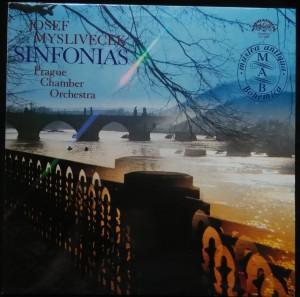 náhled knihy - Josef Mysliveček: Sinfonias