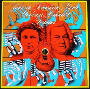 náhled knihy - Johan Sebastian Bach, Vladimír Mikulka: Kytara