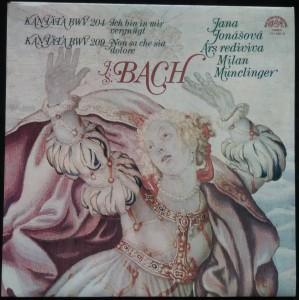náhled knihy - Johan Sebastian Bach: Kantáta BWV 204, Kantáta BWV 209