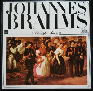 náhled knihy - Johannes Brahms: Uherské tanec