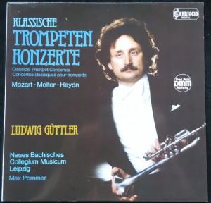 náhled knihy - Ludwig Güttler: Klassische Trompeten Konzerte