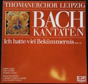 náhled knihy - Thomanerchor Leipzig: Bach Kantaten - Ich hatte viel Bekümmernis BWV 21