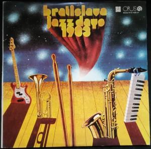 náhled knihy - Bratislava Jazz Days 1983