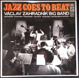 náhled knihy - Václav Zahradník Big Band: Jazz Goes to Beat
