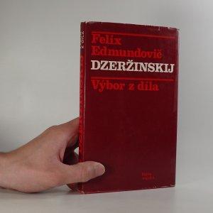 náhled knihy - Dzeržinskij. Výbor z díla.
