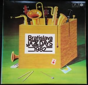 náhled knihy - Bratislava Jazz Days 1982