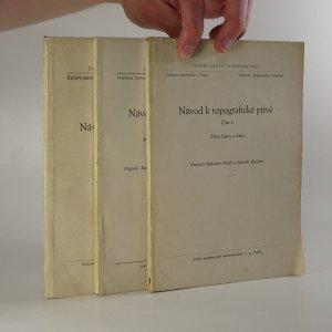 náhled knihy - Návod k topografické pitvě, části I., II. a III. (3 sešity)