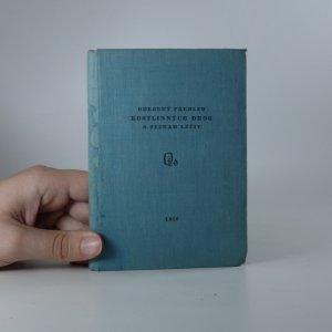 náhled knihy - Odborný přehled rostlinných drog a seznam léčiv