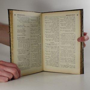 antikvární kniha Generální rejstřík ke Sbírce zákonů a nařízení, 1940