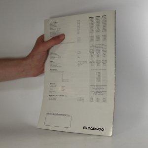 antikvární kniha Prospekt Daewoo Chairman, neuveden